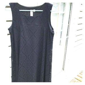 ♠️Little Black Swing Dress by Emma & Michelle ♣️